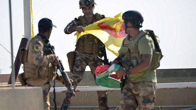 Kerkük Irak ordusunun kontrolünde