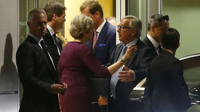 Theresa May's 'dinner diplomacy'
