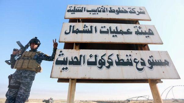 القوات الحكومية العراقية تفرض سيطرتها على كركوك