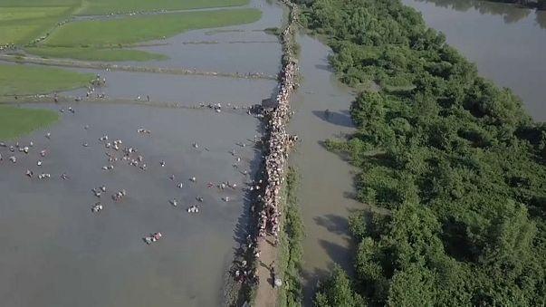 Más de medio millón de rohinyás han huido desde agosto