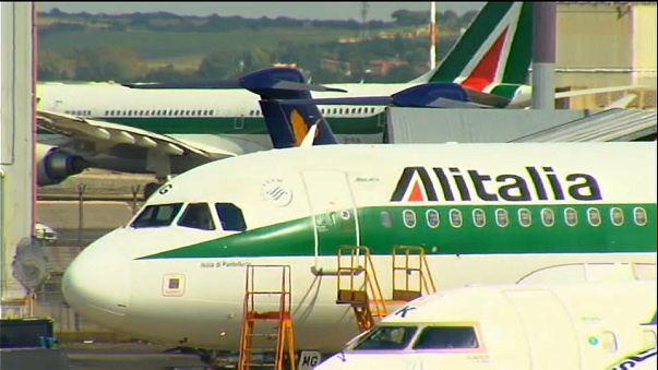 Sieben Angebote für Pleiteflieger Alitalia