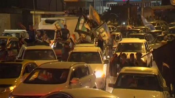 شاهد: احتفالات في كركوك عقب سيطرة القوات العراقية على المدينة