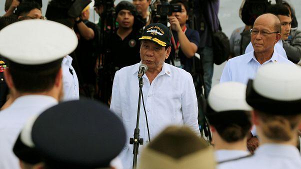 Filipinler Devlet Başkanı Duterte: Marawi kenti teröristlerden arındırıldı