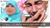 صورة لزيت زيتون طبيعي تسبب مشكلة لسيدة مسلمة