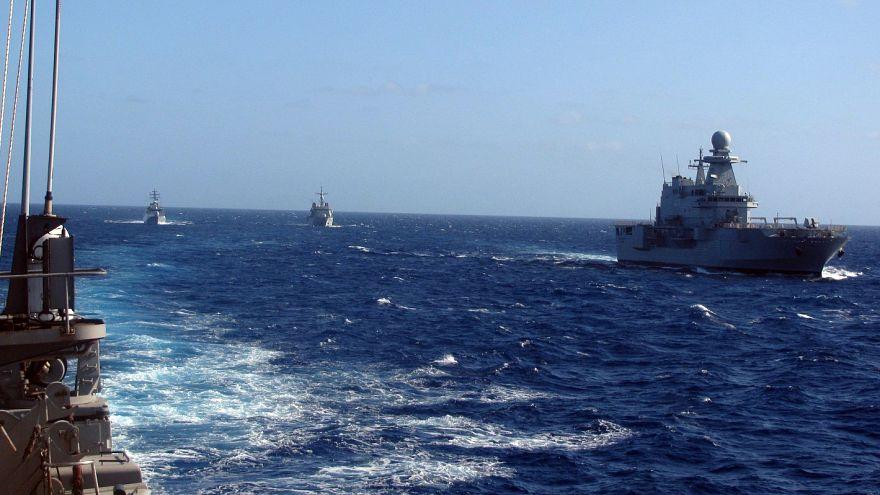 Πολυεθνική άσκηση στην κυπριακή ΑΟΖ