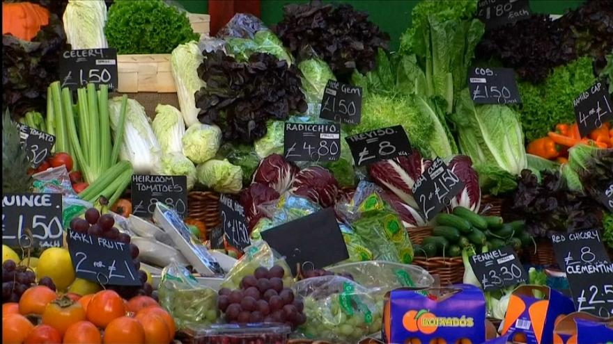 UK inflation highest since 2012