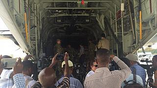 US military plane lands in Mogadishu carrying tonnes of medical aid