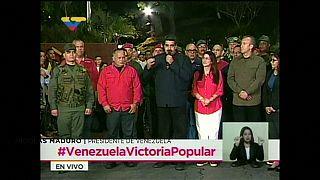 """La oposición califica de """"fraude eñectoral"""" el triunfo de Maduro"""