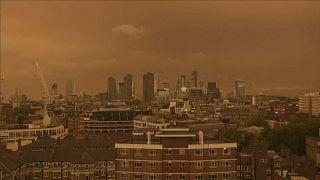 Ophelia, Londra semalarını sarıya boyadı