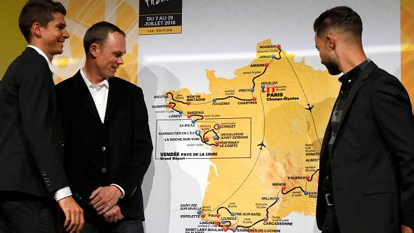Változatos útvonal a Tour de France-on