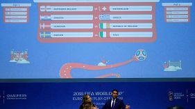 Itay to play Sweden in World Cup playoffs, Ireland draw Denmark