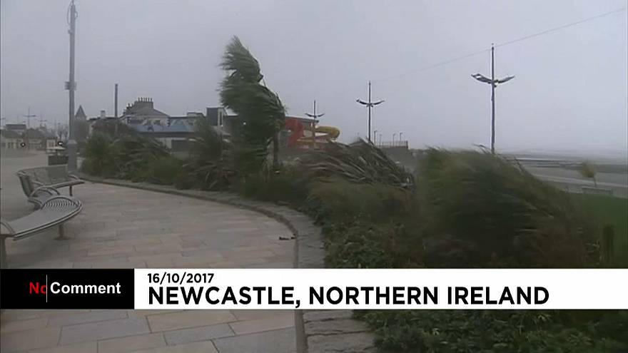 Schools shutdown continues as Ophelia hits Northern Ireland