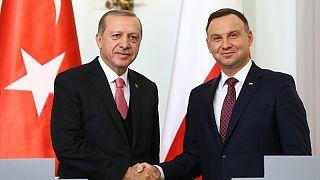 Erdoğan Polonya'dan AB'ye seslendi: Minderden kaçmayacağız