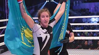 MMA fighters compete at world championships in Kazakhstan
