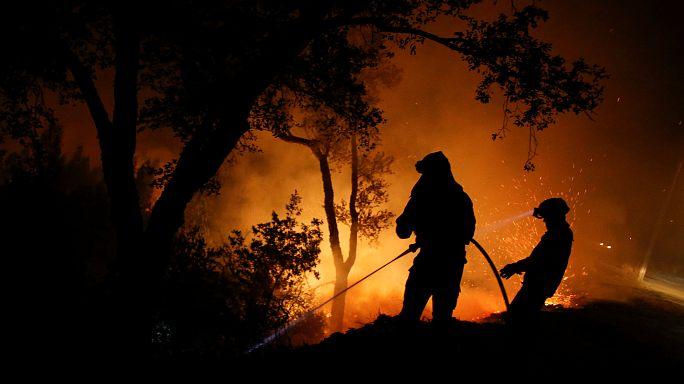 45 قتيلا على الأقل في حرائق الغابات بالبرتغال واسبانيا