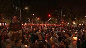 Νέες μαζικές διαδηλώσεις στην Καταλονία