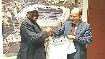 Nigerian State partners Real Madrid; Governor meets Ronaldo, Ramos