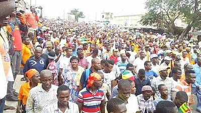 Togo opposition protests to restart; Canada, U.S. issue security alert