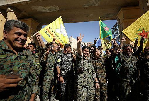 """Siria. """"Raqqa sarà più bella di prima"""""""