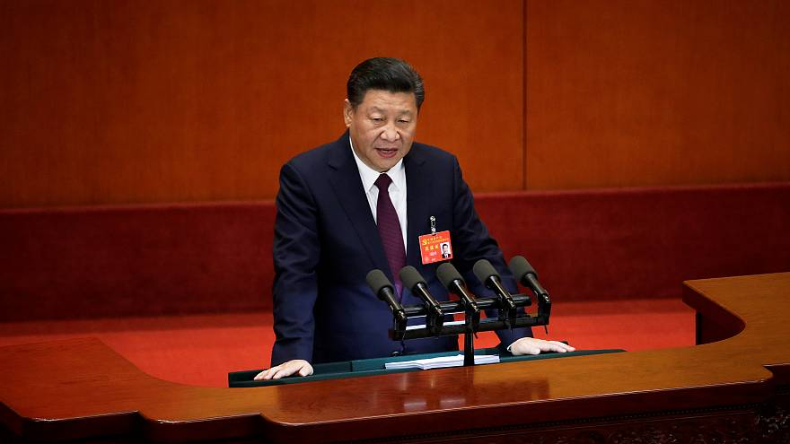 China's President praises the successes of 'socialism' at Communist Party Congress