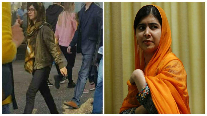 ملالا يوسفزاي تختار ارتداء الجينز والكعب العالي في جامعة أكسفورد