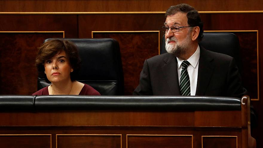 """[Sesión del Congreso completa] Rajoy pide a Puigdemont """"sensatez"""" antes de que expire el segundo plazo"""