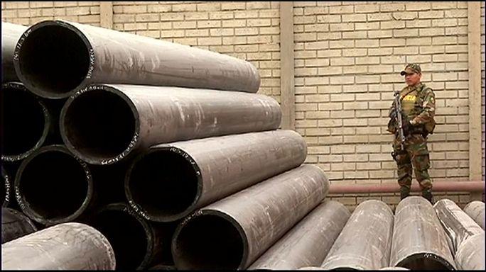 Perú incauta 1,3 toneladas de cocaína en tubos sintéticos
