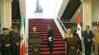 رییس ستاد کل نیروهای مسلح ایران از سوریه به اسرائیل حمله کرد