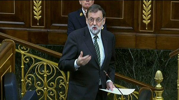 Mariano Rajoy pede sensatez a Carles Puigdemont