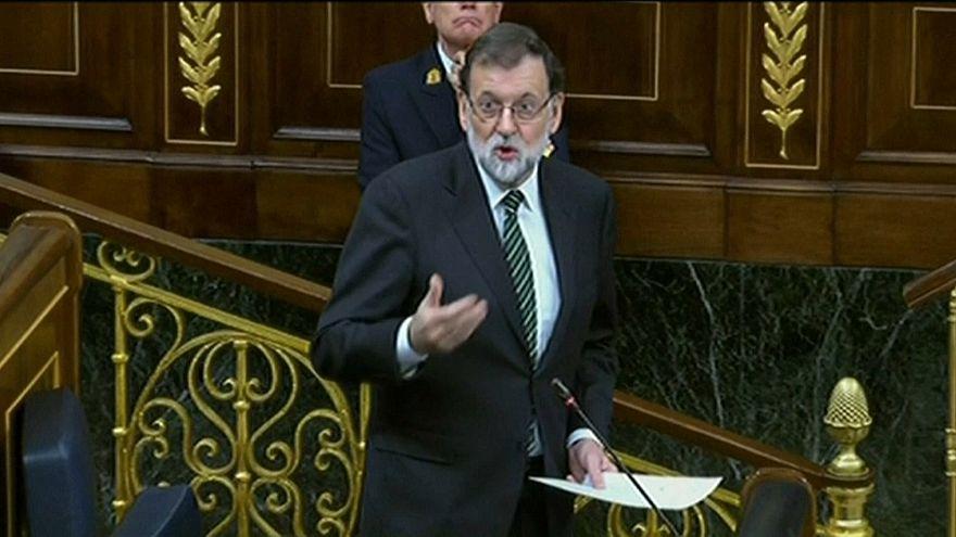 Rajoy pide de nuevo a Puigdemont que aclare si declaró o no la independencia
