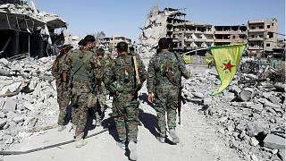 Syrian Democratic Forces' 'donut stunt' marks end of Islamic State siege over Raqqa