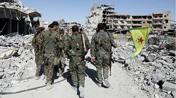 Vídeo: El derrape 'dónut' que marcó el fin de la ocupación de Al Raqa