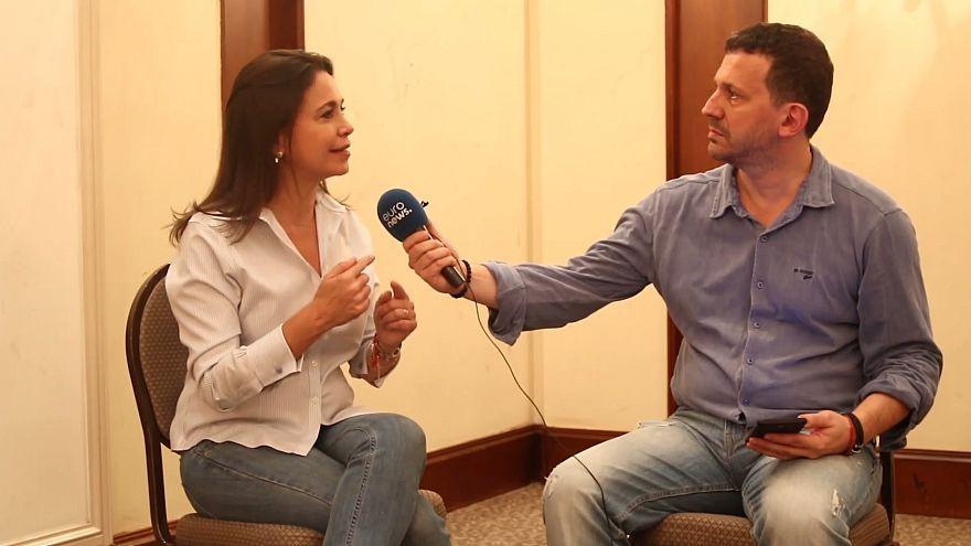 Entrevista a María Corina Machado, opositora venezolana que llamó a boicotear las elecciones