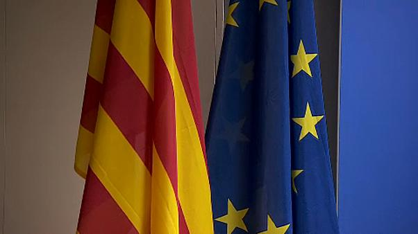 Catalonia crisis comes to Brussels