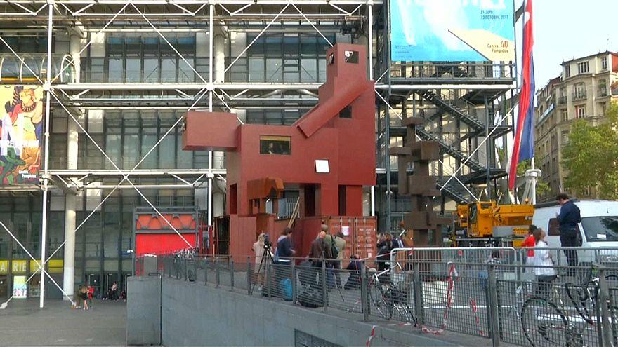 Centro Pompidou acolhe obra polémica