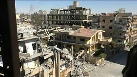 US-backed Syrian fighters clear remnants in war-ravaged Raqqa