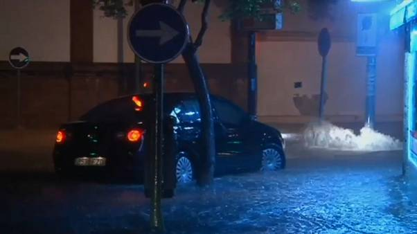 Überflutungen in Spanien