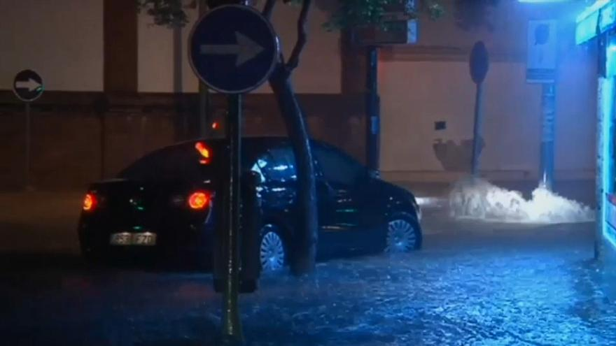 İspanya'nın güneybatısında sel baskınları