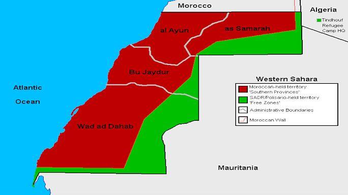 أول زيارة للمبعوث الأممي للمخيمات الصحراوية وتصميم على حل النزاع في الصحراء الغربية