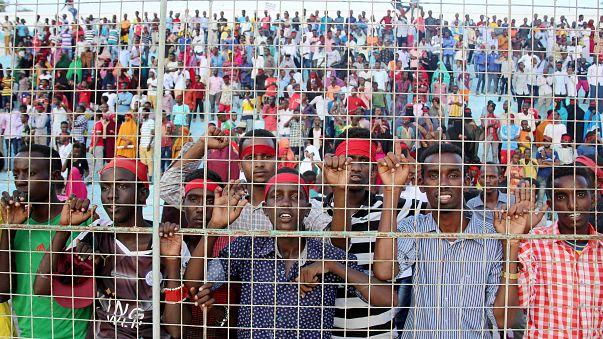 Mogadişu'da halk ülkenin en kanlı eylemini protesto etti