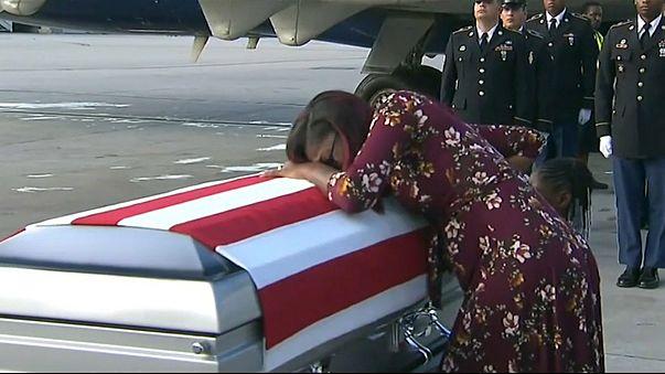 Condolências a viúva de soldado criam novo caso a Trump