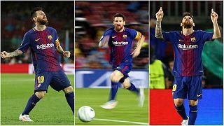 لیگ قهرمانان اروپا و صدمین گل اروپایی مسی