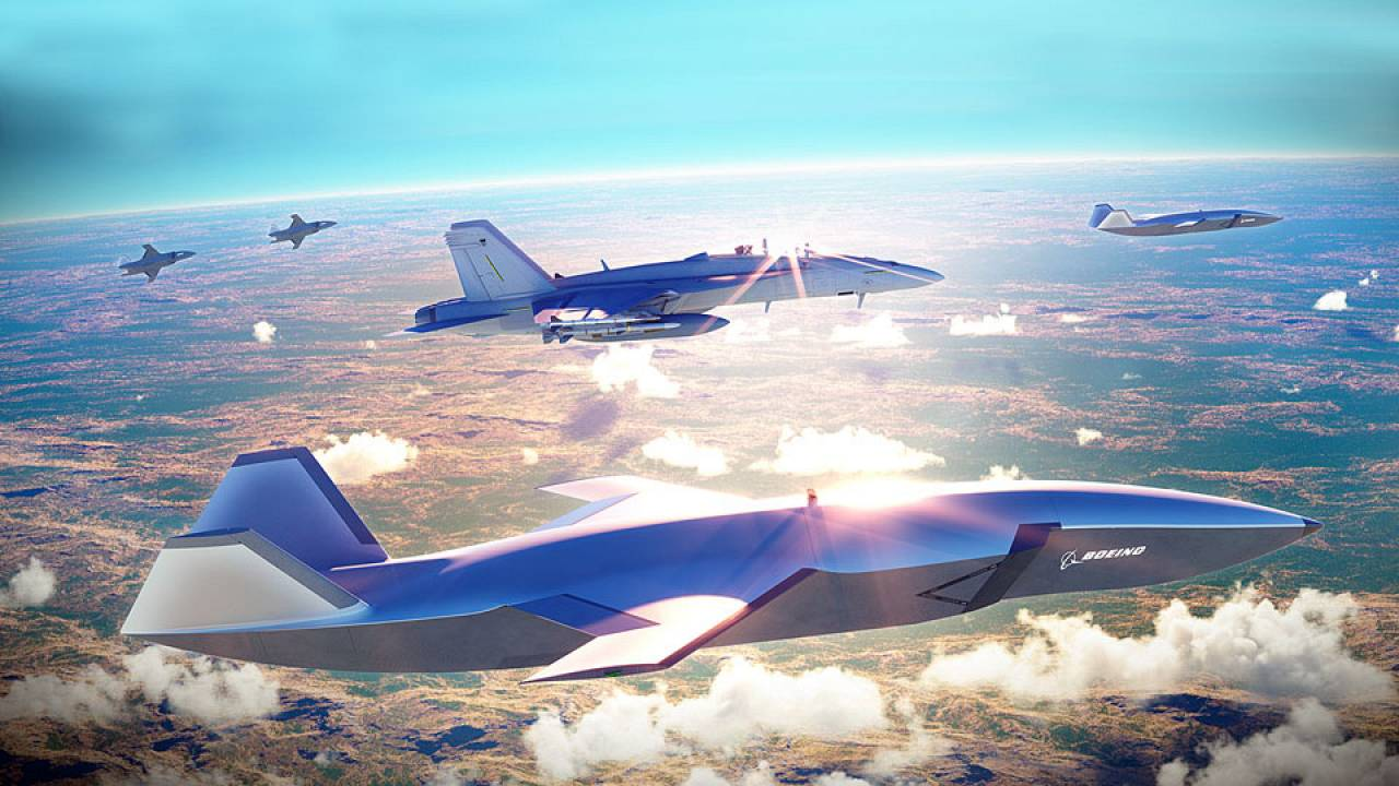 Robotic Fighter Jets Could Soon Join Military Pilots On