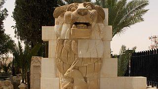 شیر اللات، محافظ شهر پالمیرا بازسازی شد