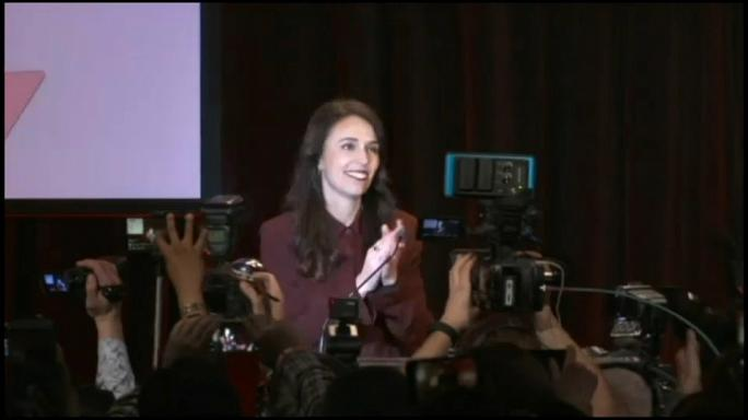 Jacinda Ardern is to be the New Zealand prime minister