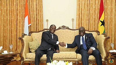 Ouattara rencontre Akufo-Addo au Ghana