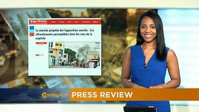 Retrouvez tous les matins dans le Morning Call, la revue de la presse africaine.