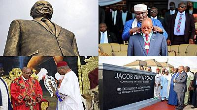 Nigeria : la statue de Jacob Zuma crée une controverse