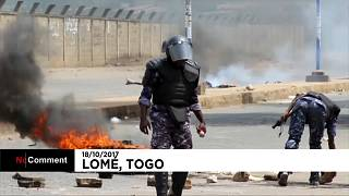 Mortes e detenções em protestos no Togo