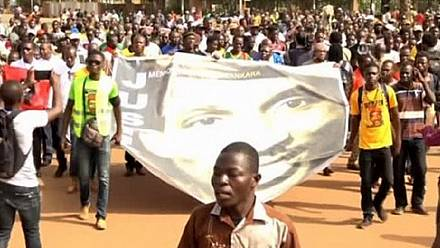 "Burkina Faso remembers ""Africa's Che"", renew calls for justice [no comment]"